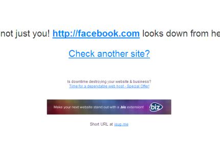 Facebook leállás ellenőrző - másnál is leállt, vagy csak nálam?