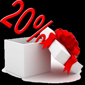 20% Nőnapi kedvezmény