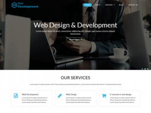 ingyenes WordPress sablonok letöltése - Web developer sablon előnézete