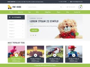 Letölthető WordPress sablon ingyen, óvodai sablon képe