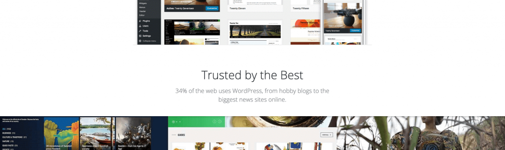 WordPress népszerűségi statisztika