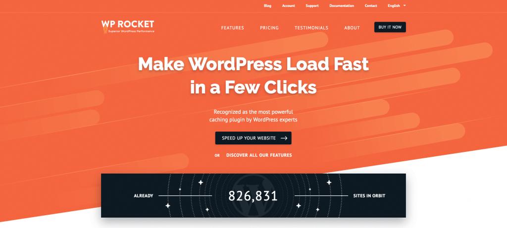 Weboldal gyorsítás bővítmény, wprocket